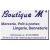boutique m logo